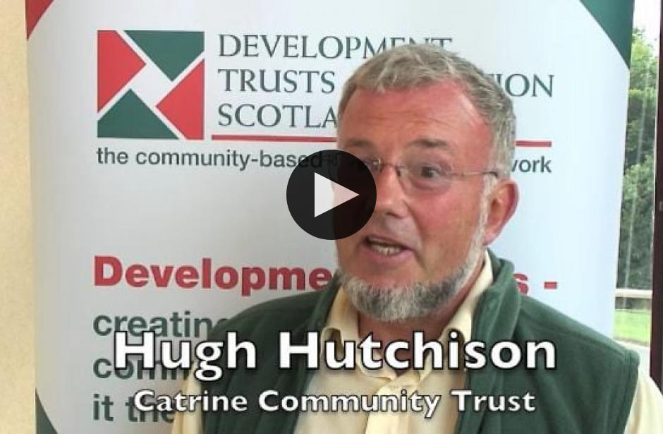 DTAS Member Stories: Hugh Hutchison, Catrine Community Trust