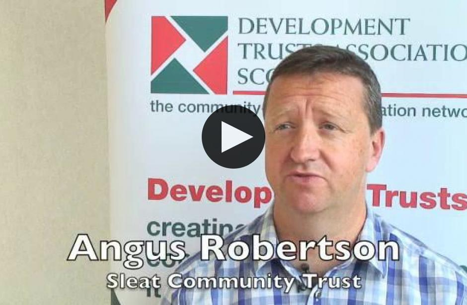 DTAS Member Stories: Angus Robertson, Sleat Community Trust