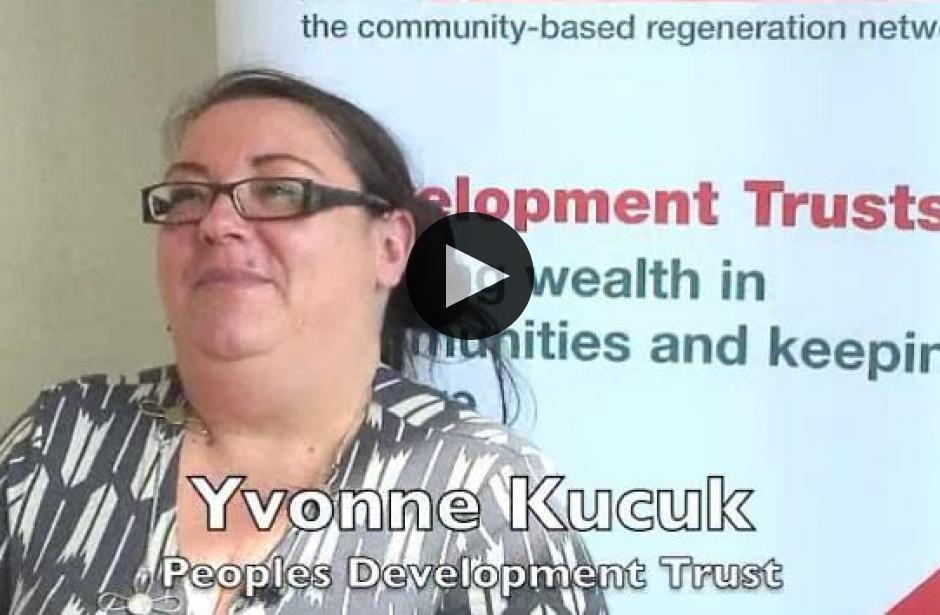 DTAS Member Stories: Yvonne Kucuk, Peoples Development Trust