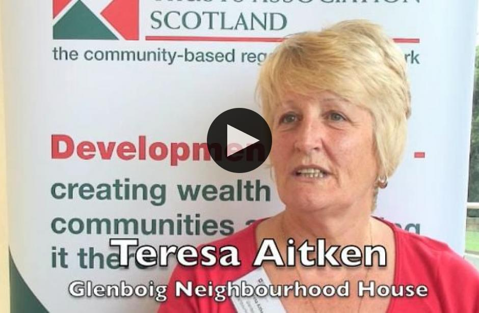 DTAS Member Stories:Teresa Aitken, Glenboig Neighbourhood House